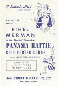 Panama Hattie (Broadway) - 11 x 17 Poster - Style A