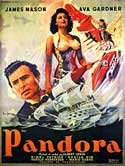 Pandora and the Flying Dutchman - 11 x 17 Movie Poster - French Style A