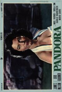 Pandora and the Flying Dutchman - 11 x 17 Movie Poster - Italian Style C