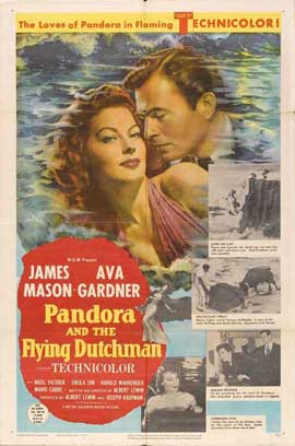 Pandora and the Flying Dutchman - 27 x 40 Movie Poster - Style A