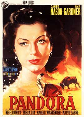 Pandora and the Flying Dutchman - 11 x 17 Movie Poster - Italian Style E