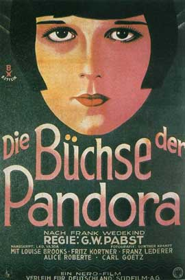 Pandora's Box - 11 x 17 Movie Poster - German Style C