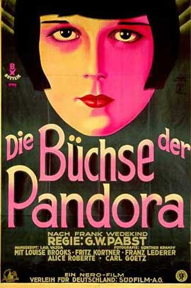 Pandora's Box - 11 x 17 Movie Poster - German Style A