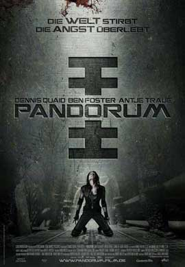 Pandorum - 27 x 40 Movie Poster - German Style A