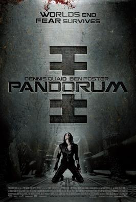 Pandorum - 46 x 60 Poster - Subway Style A