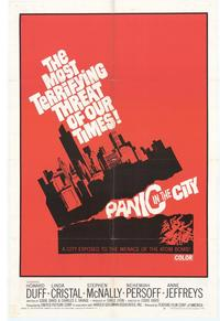 Panic In The City - 27 x 40 Movie Poster - Style A
