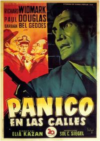 Panic in the Streets - 11 x 17 Movie Poster - Spanish Style A