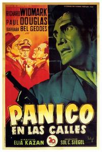Panic in the Streets - 27 x 40 Movie Poster - Spanish Style A