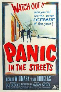 Panic in the Streets - 11 x 17 Movie Poster - Style B