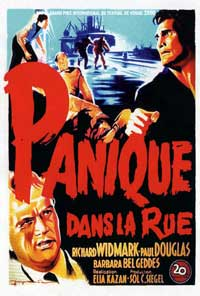 Panic in the Streets - 11 x 17 Movie Poster - French Style A