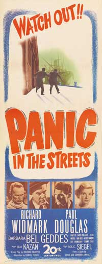 Panic in the Streets - 14 x 36 Movie Poster - Insert Style A