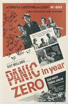 Panic in Year Zero! - 11 x 17 Movie Poster - Style B