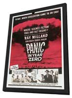 Panic in Year Zero! - 11 x 17 Movie Poster - Style A - in Deluxe Wood Frame