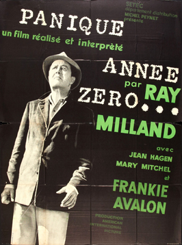Panic in Year Zero! - 27 x 40 Movie Poster - French Style A