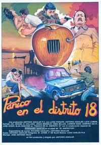 Panico en el distrito 18 - 43 x 62 Movie Poster - Spanish Style A