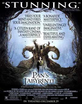 Pan's Labyrinth - 27 x 40 Movie Poster - Style E