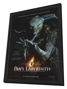 Pan's Labyrinth - 27 x 40 Movie Poster - Style A - in Deluxe Wood Frame
