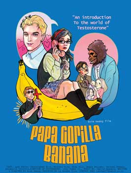 Papa Gorilla Banana - 43 x 62 Movie Poster - Bus Shelter Style A