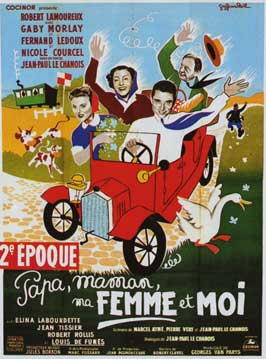 Papa, Mama, My Woman and Me - 11 x 17 Movie Poster - French Style A