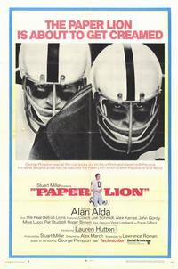 Paper Lion - 11 x 17 Movie Poster - Style A