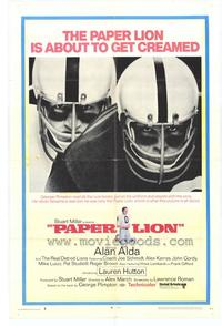 Paper Lion - 43 x 62 Movie Poster - Bus Shelter Style A
