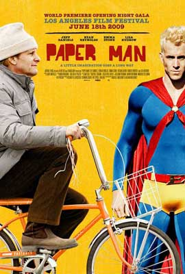 Paper Man - 11 x 17 Movie Poster - Style A