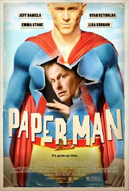 Paper Man - 11 x 17 Movie Poster - Style B