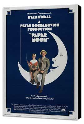 Paper Moon - 27 x 40 Movie Poster - Style B - Museum Wrapped Canvas