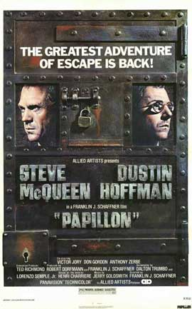Papillon - 11 x 17 Movie Poster - Style B