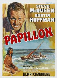Papillon - 27 x 40 Movie Poster - Belgian Style A