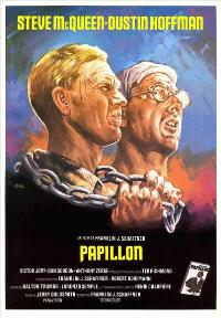 Papillon - 11 x 17 Movie Poster - Spanish Style B