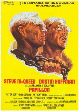 Papillon - 27 x 40 Movie Poster - Spanish Style A