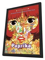 Paprika - 27 x 40 Movie Poster - French Style A - in Deluxe Wood Frame