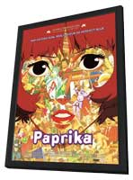 Paprika - 11 x 17 Movie Poster - French Style A - in Deluxe Wood Frame
