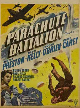 Parachute Battalion - 11 x 17 Movie Poster - Style A