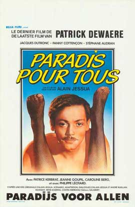 Paradise for All - 11 x 17 Movie Poster - Belgian Style A