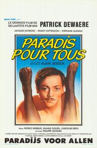 Paradise for All - 27 x 40 Movie Poster - Belgian Style A