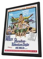 Paradise, Hawaiian Style - 27 x 40 Movie Poster - Style A - in Deluxe Wood Frame