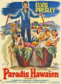Paradise, Hawaiian Style - 11 x 17 Movie Poster - French Style A