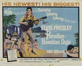 Paradise, Hawaiian Style - 22 x 28 Movie Poster - Style A