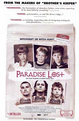 Paradise Lost: The Child Murders at Robin Hood Hills - 11 x 17 Movie Poster - Style A