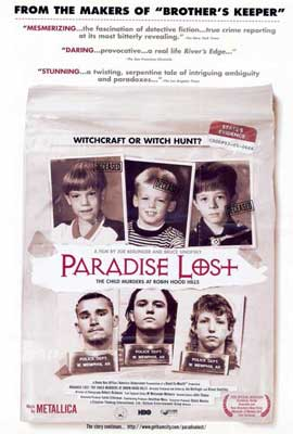 Paradise Lost: The Child Murders at Robin Hood Hills - 27 x 40 Movie Poster - Style A