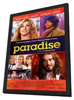 Paradise - 11 x 17 Movie Poster - Style A - in Deluxe Wood Frame