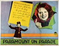 Paramount on Parade - 11 x 14 Movie Poster - Style A