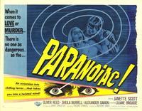 Paranoiac - 22 x 28 Movie Poster - Half Sheet Style A
