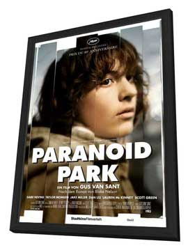 Paranoid Park - 27 x 40 Movie Poster - Austrian Style A - in Deluxe Wood Frame