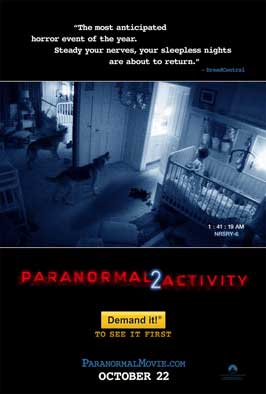 Paranormal Activity 2 - DS 1 Sheet Movie Poster - Style A