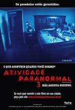 Paranormal Activity 3 - 11 x 17 Movie Poster - Brazilian Style A