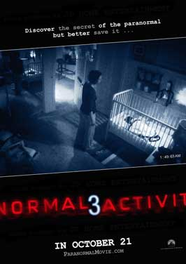 Paranormal Activity 3 - 43 x 62 Movie Poster - Bus Shelter Style A