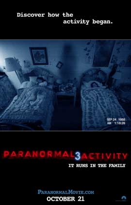 Paranormal Activity 3 - 27 x 40 Movie Poster - Style B